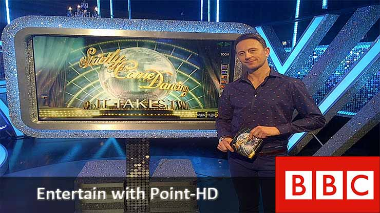 Strictly Come Dancing with POINT-HD