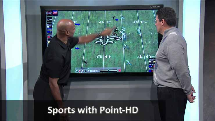 Panthers Telestrator POINT-HD